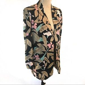 Vintage lightweight summer blazer